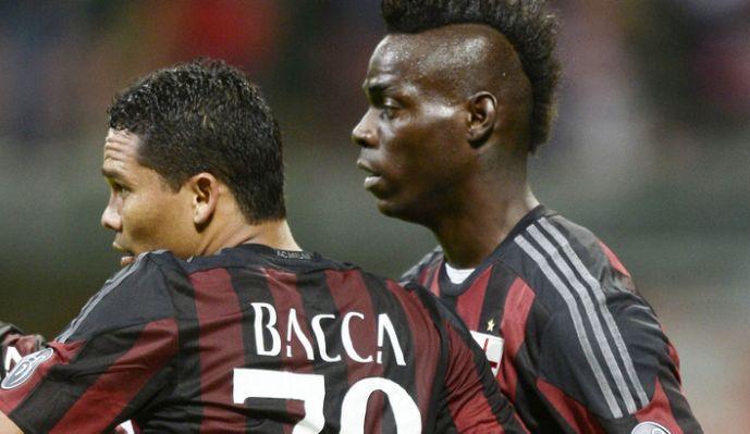 Milan, in arrivo la multa per il Bacca furioso