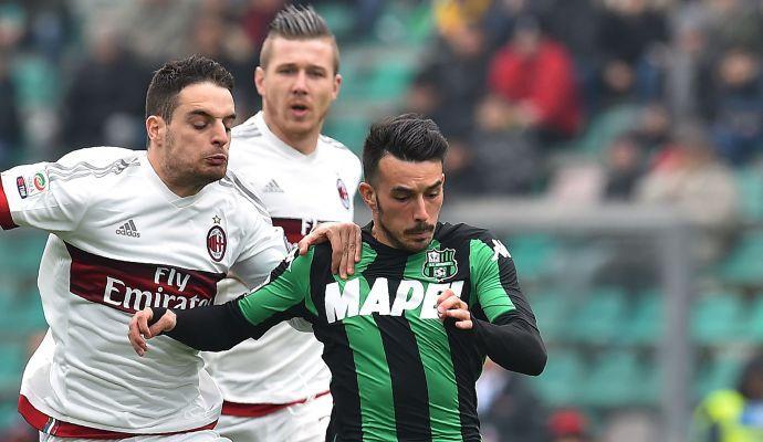 Sassuolo-Sampdoria: le formazioni ufficiali