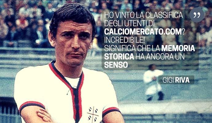 Riva esulta: 'Calciomercato.com mi ha reso immortale, grazie ragazzi!'