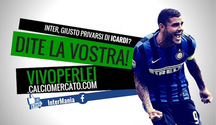 Inter: Icardi in vendita per 40 milioni