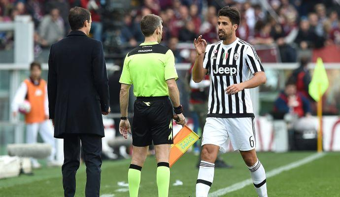 Khedira salta Empoli e Milan. Un turno a Bonucci, Sandro, Kalinic e Koulibaly