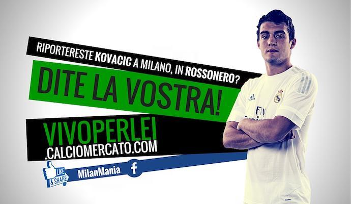 Il Milan ci prova con Kovacic, ex Inter