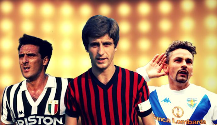 50 ANNI, 10 STELLE: la classifica di Marino, Rivera e Scirea davanti a Baggio