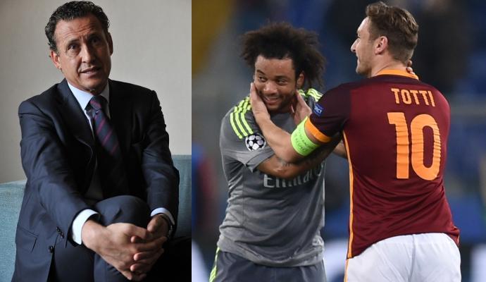 Marcelo-Totti, scambio di amore social. E il figlio del brasiliano...   FOTO