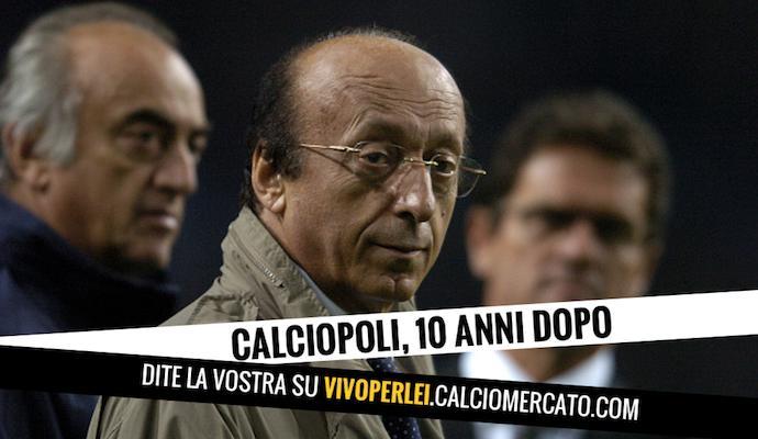 Calciopoli è finito, giustizia è stata fatta