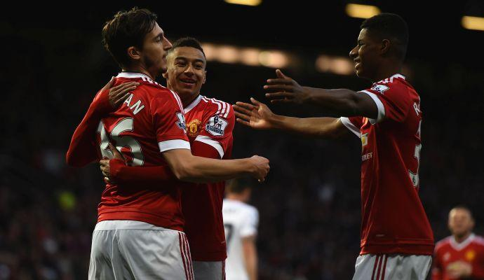 Premier League: Liverpool, poker nel derby. Primo gol di Darmian, vincono United e West Ham