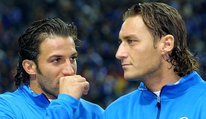 Del Piero e Totti, quanto vi assomigliate!