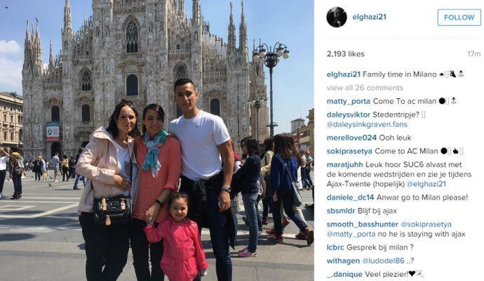 ESCLUSIVO L'Inter sfida il Milan per El Ghazi! E lui porta la famiglia a Milano