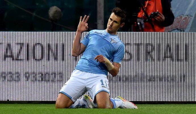 Convocati Lazio: out Klose, Matri e Parolo