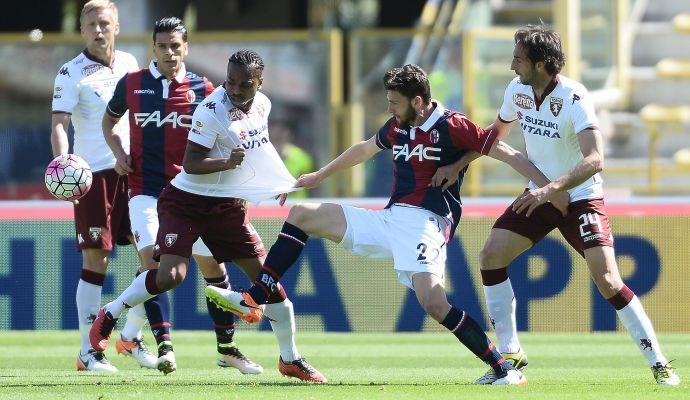 Bologna, affaticamento muscolare per un centrocampista