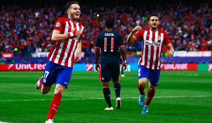 Champions, primo round a Simeone. Magia di Saul: Atletico, 1-0 al Bayern