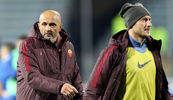 Roma, Tapiro d'Oro a Totti e Spalletti