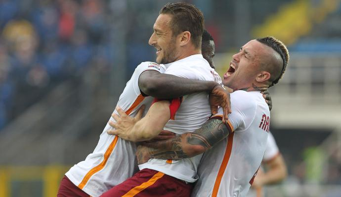 Roma, le pagelle di CM: ci pensa Totti
