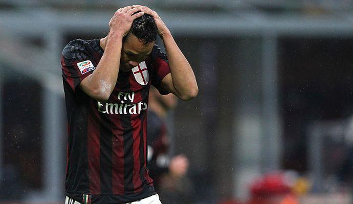 Milan, Bacca non gradisce il cambio e sfida Brocchi