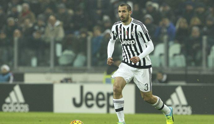 Juventus, UFFICIALE: Chiellini fuori 20 giorni, finale di Coppa Italia a rischio
