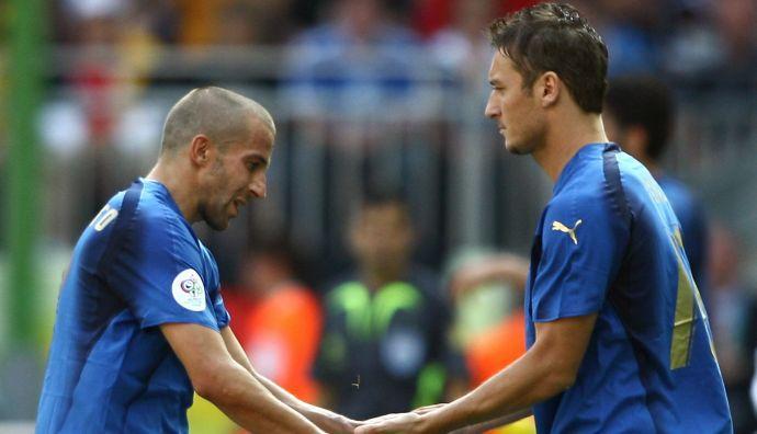 Del Piero a Totti: 'So cosa provi'