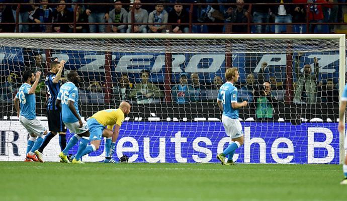 MOVIOLA Inter-Napoli: irregolare l'1-0