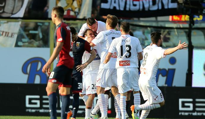 Carpi-Genoa 4-1: GOL E HIGHLIGHTS