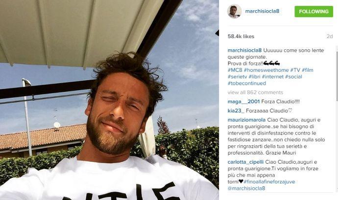 VIDEO Marchisio, recupero da record