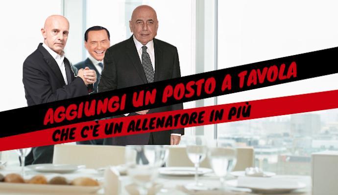 Pranzo tra Berlusconi, Galliani e Sacchi: si decide il futuro del Milan
