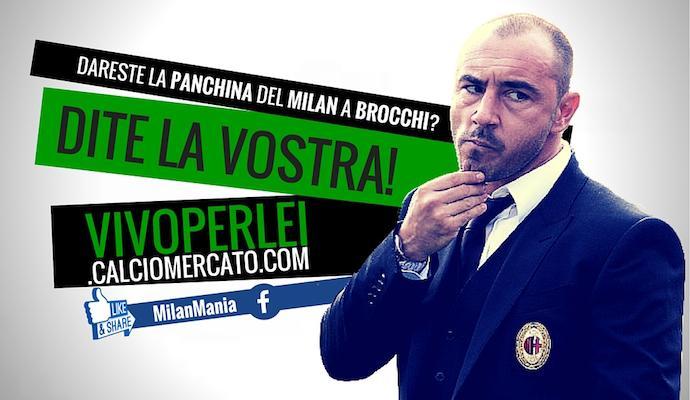 Milan: Berlusconi voleva subito Brocchi