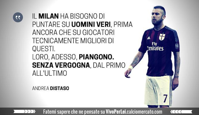 Milanmania: un pianto senza fine, quello di giocatori che non meritano la maglia
