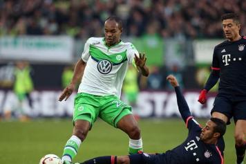 Naldo Wolfsburg contrasto