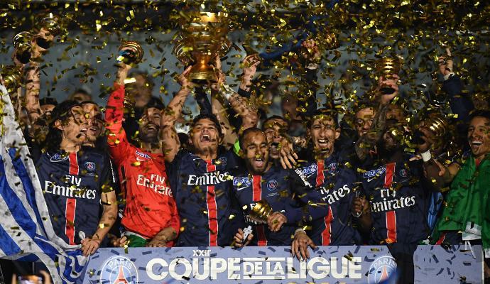 Francia: il PSG in 10 vince la Coupe de la Ligue