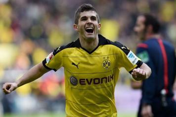 Pulisic Dortmund esulta