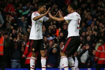 Rashford Manchester United esulta