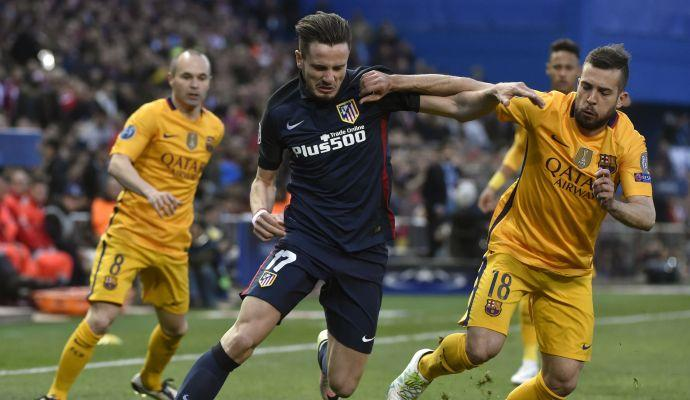 Atletico Madrid, il cartellino di Saul ceduto ad un fondo