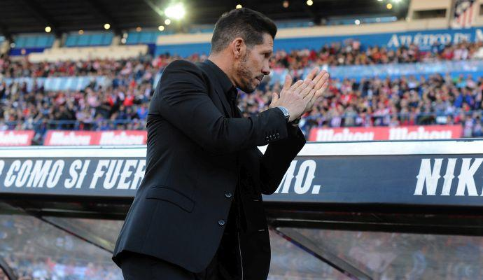 Ds Atletico Madrid: 'Inter, Simeone resta con noi'