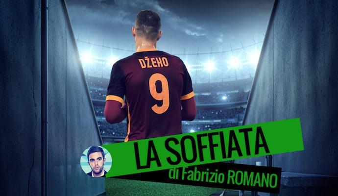 Caso Dzeko: la Roma lo mette in vendita