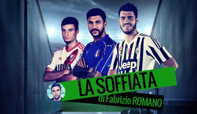 Conte vuole Morata, Inter su Soriano