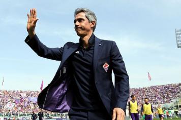 Sousa Fiorentina saluta