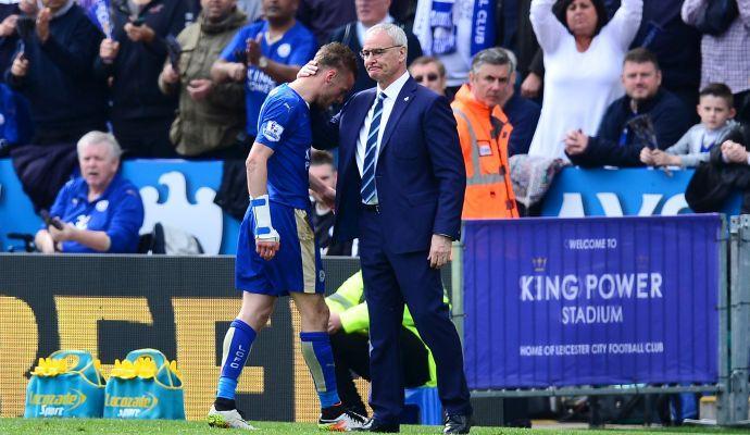 Leicester, pari e polemiche: rosso Vardy