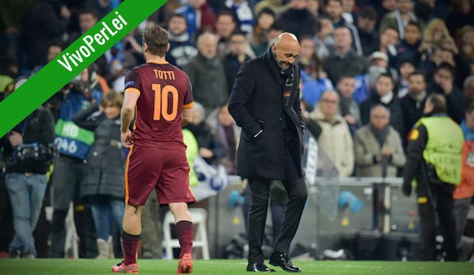 'Caro Spalletti, se alleni a certi livelli lo devi solo a Totti'