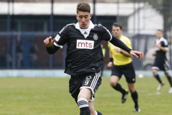 Vlahovic Partizan scatto