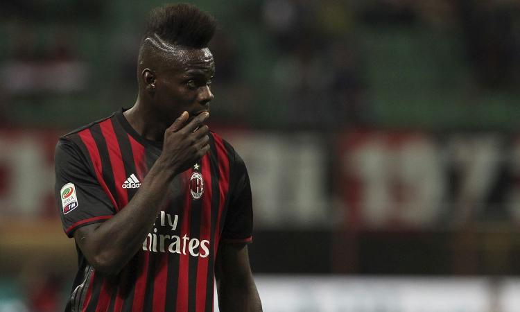 Milan, Balotelli ne combina un'altra