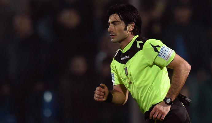 Milan-Crotone, ecco l'arbitro