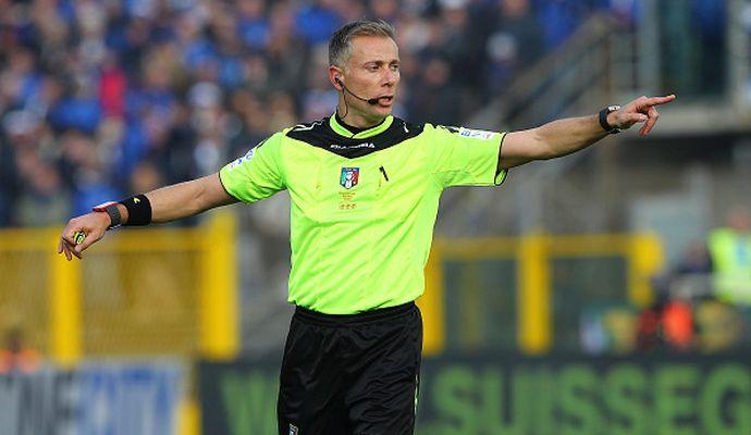 Salernitana-Atalanta: arbitro, assistenti e var