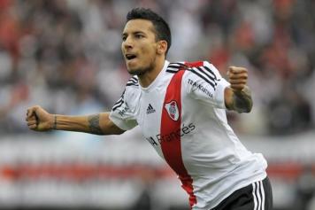Vangioni River Plate esulta