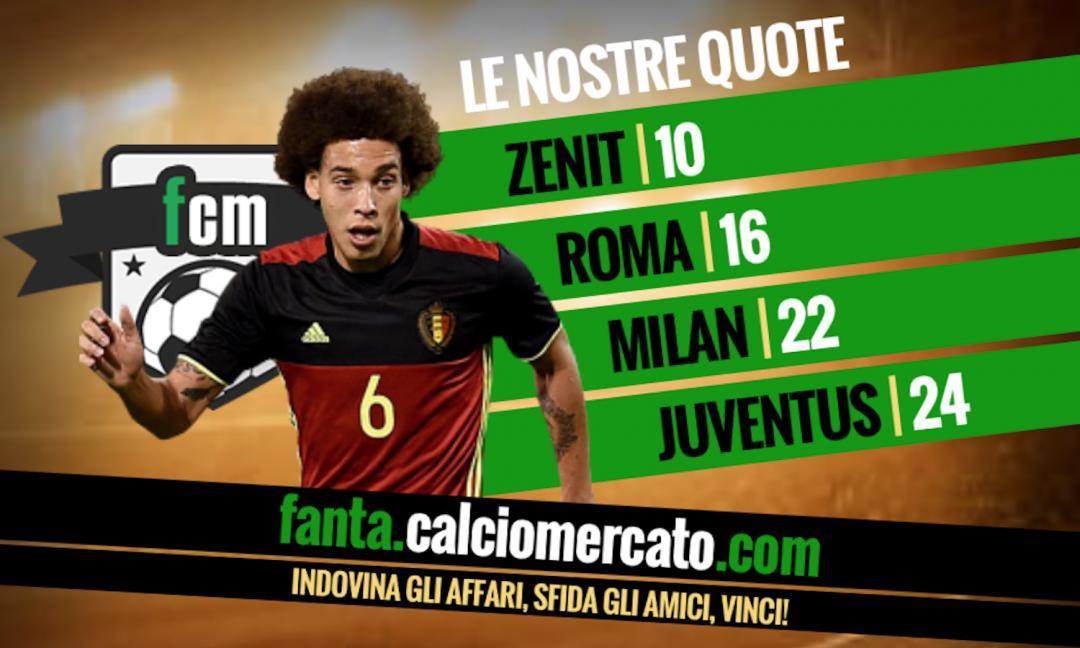 Juventus su Witsel: sarebbe l'acquisto giusto per i bianconeri?