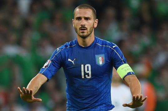 Bonucci's son severely ill: Napoli and Roma fans show