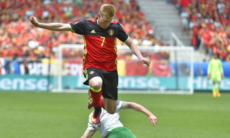Belgio, UFFICIALE: de Bruyne torna al Man City per un infortunio