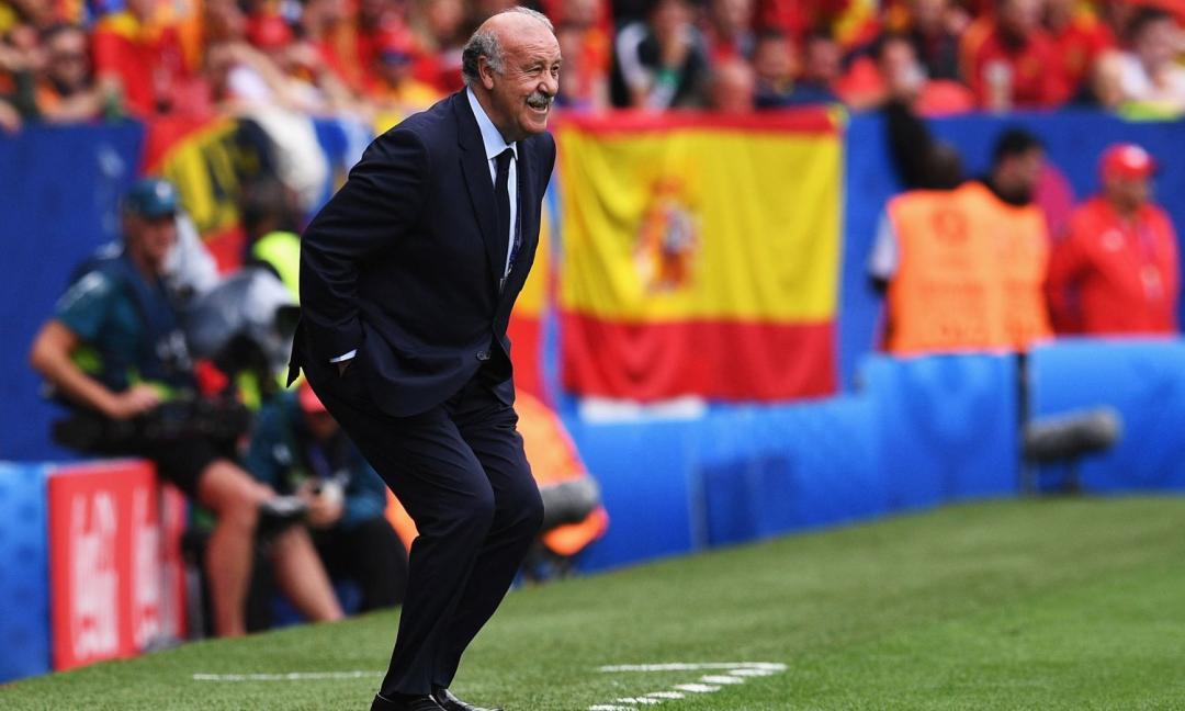 Nuova vita per Del Bosque: senza pallone e... senza baffi!