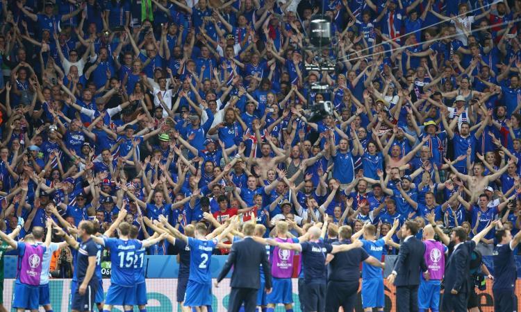 Islanda al Mondiale: tifosi in festa a ritmo del 'geyser sound' VIDEO