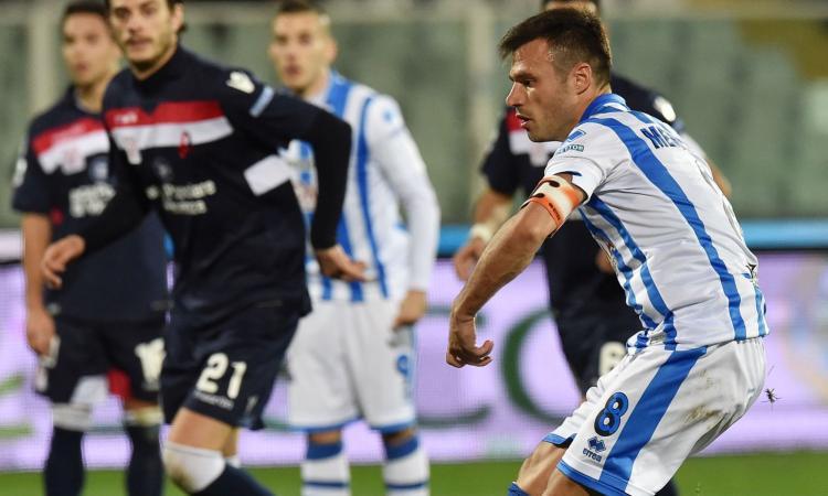 Pescara, UFFICIALE: torna Memushaj dal Benevento
