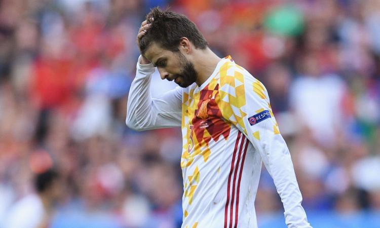 Piqué-Spagna, storia di un divorzio annunciato VIDEO