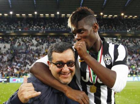 Raiola su Pogba: 'Non gli dispiacerebbe tornare alla Juve'